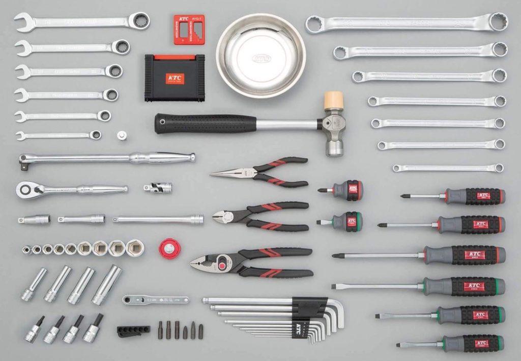 基本的な工具が全て備わっている!